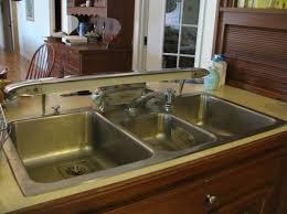 Elkay Kitchen Sink Vintage Elkay Stainless Steel Kitchen Console With Built In