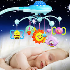 baby crib lights toys baby crib toys bell star hanging sleep infant bedding baby play