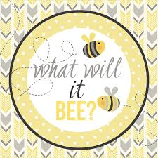 what will it bee baby shower stickers party decor bee baby shower what will it bee yellow