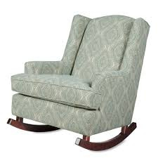 danby upholstered wingback chair made in usa furniture