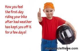 Bad Weather Meme - motorcycle memes motorcycle melee