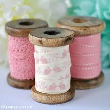 ribbon spools pretty pink ribbon spools pink ribbons haberdashery and sewing