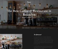 free bootstrap templates for food restaurant cafe websites