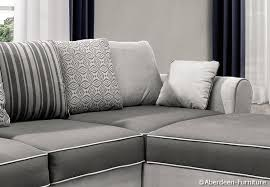 Grey Corner Sofa Bed Corner Sofa Bed In Grey Aberdeen Furniture