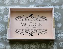 personalized serving trays 62 best personalized serving trays custom tray personalized