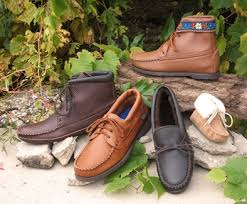 Comfortable Moccasins Leather Moccasins Comfortable Deerskin Shoes And Knee High