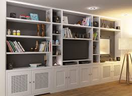Built In Bookshelves Around Tv by Fitted Bookcase Around Tv Unit Chelsea