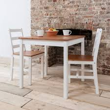 Annika Dining Table With 2 Chairs In Natural White Noa Nani