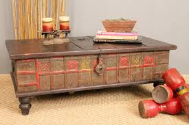 antique trunk coffee table home design