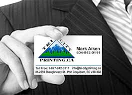 Vancouver Business Card Printing Tri City Printing Inc Digital And Offset Colour Printing In