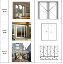 tempered glass folding sliding doors glass kitchen door design