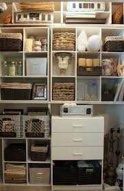 Closet Organizers Ideas Organizing A Junk Closet With Cube Storage Units
