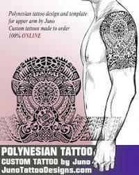 polynesian tatoo tribal template juno