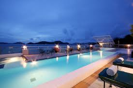swimming pool brilliant long modern rooftop pool design with