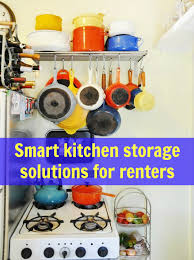 Storage Ideas For Kitchens 10 Smart Kitchen Storage Solutions For Renters Apartment Therapy