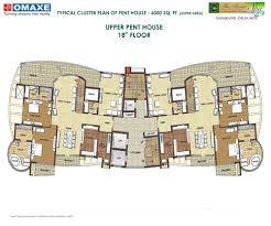 cluster home floor plans 9899 648 140 price of omaxe forest in faridabad omaxe forest in