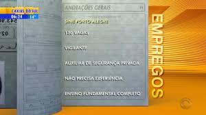 www vagas vigia curitiba ultimas empregos sine tem 130 vagas de vigilante e auxiliar de segurança