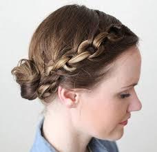 Hochsteckfrisurenen Einfach Geflochten by Haare Styles 40 Elegante Hochsteckfrisuren Für Mittlere Haar