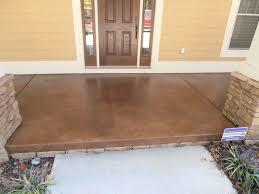 porch flooring ideas amazing how to build concrete porch 2 patio cement paint modern