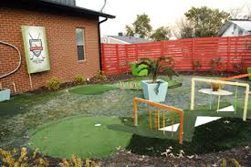 Backyard Golf Course by Building A Permanent Backyard Mini Golf Course How To Build A