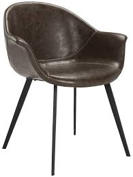 Tub Leather Chairs Ach7007a Set2 Dining Chairs Furniture By Safavieh