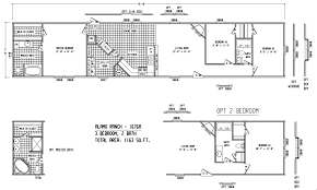 4 Bedroom Single Wide Mobile Home Floor Plans Destiny Homes Single Wide Floor Plans