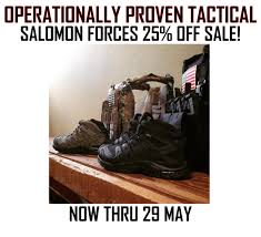 salomon boots 25 off at o p tactical soldier systems daily
