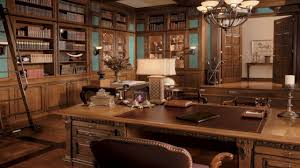 Vintage Home Office Desk Traditional And Vintage Home Office Interior Design Ideas Home