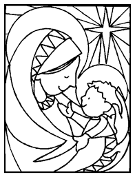 free coloring pages christian
