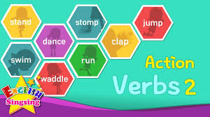 kids vocabulary action verbs 2 action words learn english