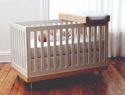 witching wooden baby drop side cot bamboo frame born babies bed