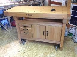 Simple Wood Workbench Plans by Build A Work Table U2013 Thelt Co