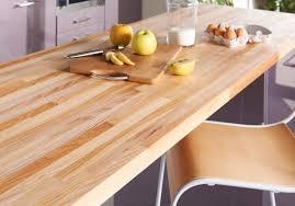 plan de travail bois cuisine un plan de travail en bois pour une cuisine authentique des