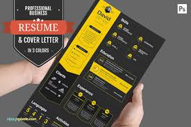 Sample Business Resume Template Professional Business Resume Cv Set Resume Templates Creative