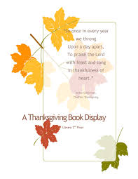 the first thanksgiving book book displays emmanuel library u0027s blog
