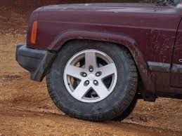 2000 jeep grand laredo tire size 3 inch lift what size tires without trimming