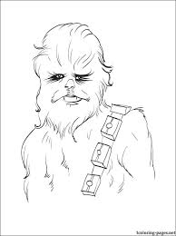 100 ideas chewbacca coloring pages on gerardduchemann com