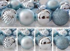 ornaments shatterproof tree decorations 40mm 24ct