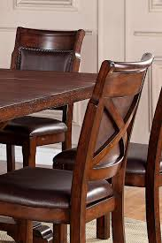 dining room table with leaves cascade trestle dining table with two leaves walker u0027s furniture