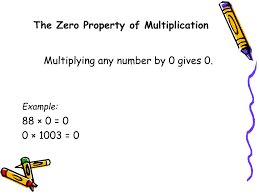 Identity Property Of Multiplication Worksheets Multiplicative Property Of 0 Images Reverse Search