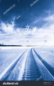 tracks on snow stock photo 52082779 shutterstock