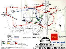 Scenic Route Map by Bike Ride Maps Texbiker Net