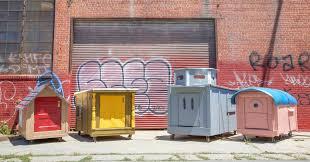 tiny houses a big idea to end homelessness