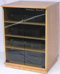 Oak Dvd Storage Cabinet Stereo And Dvd Storage Cabinets Swivel Towers And Regular Bookshelves
