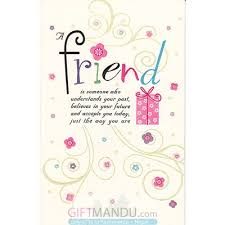 friend happy birthday greeting card send gifts to nepal