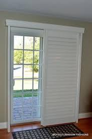 Sliding Plantation Shutters For Patio Doors Window Treatments For Sliding Doors Douglas Window And Doors