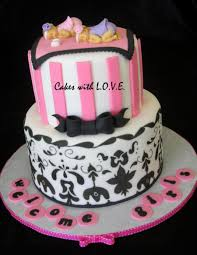 damask baby shower cake cakecentral com