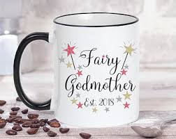 godmother mugs fairy godmother mug etsy