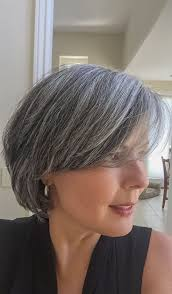 grow hair bob coloring 199 best grey hair images on pinterest colourful hair grey hair