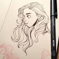 sketchbook doodle turned out decent u2026 girlsinanimation drawing